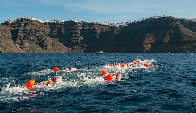 Open Water Swimming @ Santorini Experience