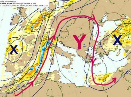 """28η Οκτωβρίου: Τι καιρό θα κάνει το τριήμερο - Πού οφείλεται το """"μίνι καλοκαίρι"""""""